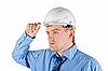 ID 3030864 | Mann in weißem Helm | Foto mit hoher Auflösung | CLIPARTO
