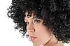 ID 3030959 | Junge Frau mit dem lockigen Haar | Foto mit hoher Auflösung | CLIPARTO