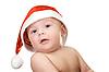 ID 3031162 | Baby Junge in Weihnachtsmütze | Foto mit hoher Auflösung | CLIPARTO