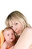 ID 3031384 | Szczęśliwa matka z dzieckiem | Foto stockowe wysokiej rozdzielczości | KLIPARTO
