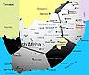 ID 3031453 | Fußball-Karte von Südafrika | Illustration mit hoher Auflösung | CLIPARTO