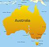Australia | Ilustración vectorial