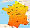 Francia | Ilustración vectorial