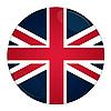 Иконка с флагом великобритании
