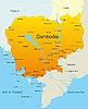 Camboya | Ilustración vectorial