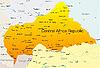 Vector clipart: Central Africa Republic