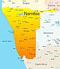 Namibia | Ilustración vectorial