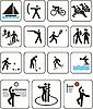 Sport Olympische Spiele Zeichen