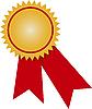 ID 3034762 | Złoty medal | Klipart wektorowy | KLIPARTO