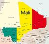 Malí | Ilustración vectorial