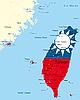 Taiwán | Ilustración vectorial