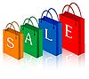 Verkauf-Einkaufstüten
