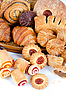 Piekarnia spożywczych ustawiony | Stock Foto