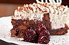 ID 3036622 | Blackberry cake slice | Foto stockowe wysokiej rozdzielczości | KLIPARTO
