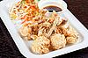 Smażone skrzydełka z kurczaka | Stock Foto