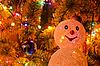ID 3076579 | Weihnachtstanne mit Schneemann | Foto mit hoher Auflösung | CLIPARTO