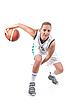 ID 3019942 | Basketballspielerin | Foto mit hoher Auflösung | CLIPARTO