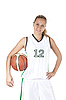 ID 3019944 | Basketballspielerin | Foto mit hoher Auflösung | CLIPARTO