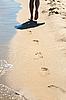 ID 3020497 | Fußabdrücke auf dem Sand | Foto mit hoher Auflösung | CLIPARTO