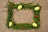 ID 3020502 | Trawa ramki z jaj i lady-dów | Foto stockowe wysokiej rozdzielczości | KLIPARTO