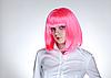 ID 3022197 | Attraktive Frau mit rosa Haaren | Foto mit hoher Auflösung | CLIPARTO
