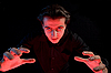 ID 3022235 | Vampir streckt seine Hände, um ein Opfer zu fangen | Foto mit hoher Auflösung | CLIPARTO