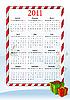 ID 3022283 | Vector illustration of European calendar 2011 | Klipart wektorowy | KLIPARTO