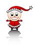 kleiner Weihnachtsmann-Helfer