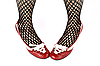 ID 3022591 | Kobieta nogi w czerwone buty | Foto stockowe wysokiej rozdzielczości | KLIPARTO