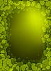 Hintergrund mit Klee | Stock Vektrografik