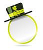 Etikett mit Hut für St. Patrick Tag