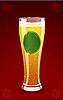 Векторный клипарт: пивной бокал