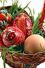Cztery jaja wielkanocne | Stock Foto