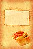 ID 3023466 | Vintage-Karte mit Geschenkbox | Foto mit hoher Auflösung | CLIPARTO