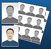 ID 3023478 | Foto-Icons mit Gesichtern | Stock Vektorgrafik | CLIPARTO