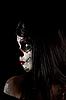 ID 3038296 | 糖骷髅女孩的肖像 | 高分辨率照片 | CLIPARTO