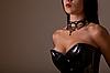 ID 3071143 | Vollbusige Frau im schwarzen Korsett | Foto mit hoher Auflösung | CLIPARTO