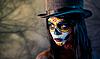 ID 3090750 | Tophat 설탕 두개골 소녀 | 높은 해상도 사진 | CLIPARTO