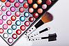 ID 3110068 | Błyszczyk paleta ze szczotkami | Foto stockowe wysokiej rozdzielczości | KLIPARTO