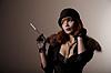 ID 3291056 | Künstlerische Schuss von schönen Retro Frau | Foto mit hoher Auflösung | CLIPARTO