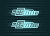 Reihe von Fortschrittsbalken für Casual-Games-Schnittstelle