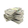 ID 3019807 | Wiele dolarów na białym tle | Foto stockowe wysokiej rozdzielczości | KLIPARTO