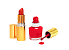 ID 3019848 | Rozlane czerwony do paznokci i Red Lipstick | Foto stockowe wysokiej rozdzielczości | KLIPARTO