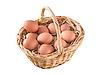 ID 3019918 | Eier im Korb | Foto mit hoher Auflösung | CLIPARTO