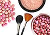 ID 3111399 | Kosmetyki rouge, proszek i szczotki | Foto stockowe wysokiej rozdzielczości | KLIPARTO