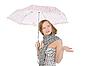 Frau mit Regenschirm | Stock Foto