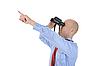 ID 3022041 | Geschäftsmann sucht mit dem Fernglas | Foto mit hoher Auflösung | CLIPARTO