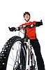 자전거의 초상화 | Stock Foto