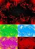 ID 3022944 | Zestaw streszczenie kolorowe banery | Klipart wektorowy | KLIPARTO