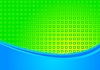 Bright niebieskim i zielonym tle | Stock Vector Graphics